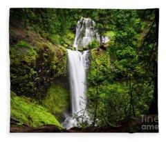Falls Creek Falls Fleece Blanket