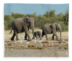 Family Affair Fleece Blanket