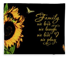 Family Fleece Blanket