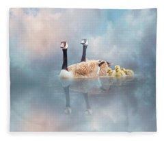 Family Cruise Fleece Blanket