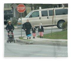Family Walk Fleece Blanket