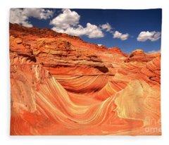 Famous Arizona Landscape Fleece Blanket