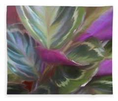 Fanning Fronds 16 Fleece Blanket