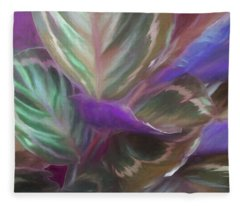 Fanningfronds17 Fleece Blanket
