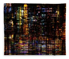 Fantastic Evening  Fleece Blanket