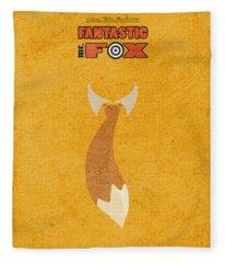 Fantastic Mr. Fox Fleece Blanket