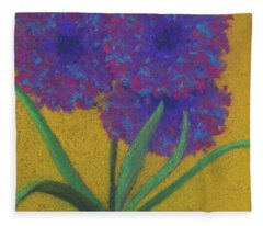 Fantasy Flower Fleece Blanket