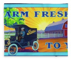 Farm Fresh To You  Fleece Blanket