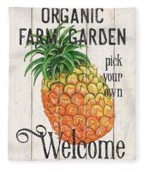 Farm Garden 1 Fleece Blanket