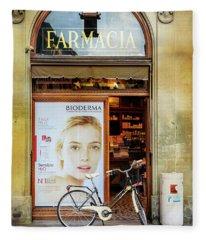 Farmacia Bioderma Bicycle Fleece Blanket