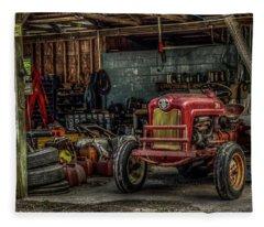 Farmall Tractor - Forever Florida Fleece Blanket