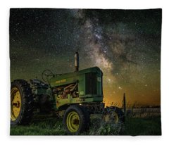 Farming The Rift 3 Fleece Blanket
