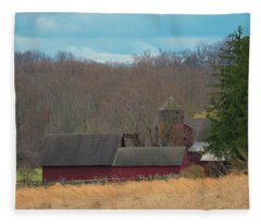 Farmland Fleece Blanket