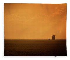 Farmland Fleece Blanket