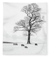 Farndale Winter Fleece Blanket