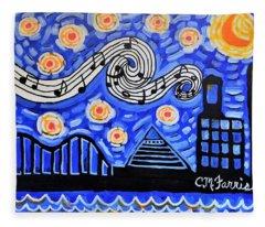 Memphis Nights Fleece Blanket