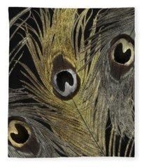 Fashion Feathers II Fleece Blanket