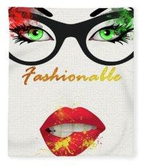 Fashionable - 14 Fleece Blanket