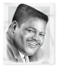 Fats Domino Fleece Blanket