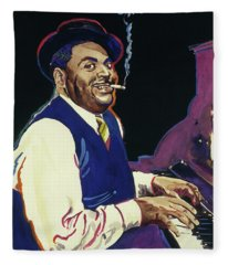 Fats Waller Fleece Blanket