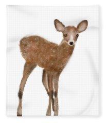 Fawn Fleece Blanket
