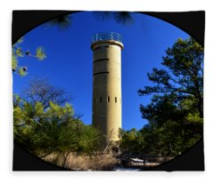 Fct7 Fire Control Tower #7 - Observation Tower Fleece Blanket