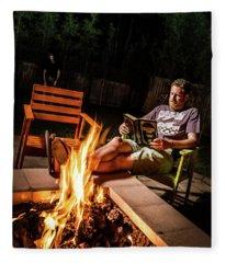 Fear By Fire Fleece Blanket
