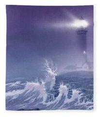 Fearless - Psalm 27 Fleece Blanket