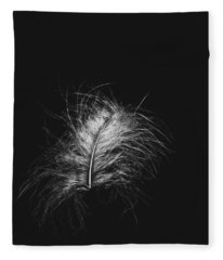 Feather 3 Fleece Blanket