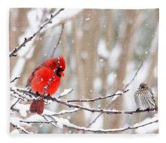 Feathered Friends Fleece Blanket