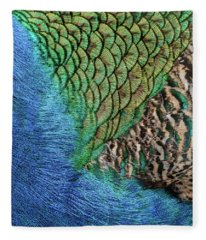 Feathers #1 Fleece Blanket