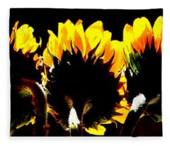Soaking Up Sun Fleece Blanket