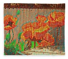 Fence Art Fleece Blanket
