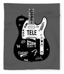 Fender Telecaster 64 Fleece Blanket