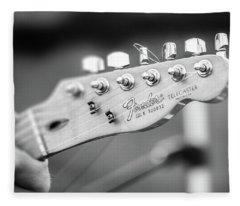 Fender Telecaster Monochrome - Detail Fleece Blanket