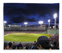 Fenway Night Fleece Blanket