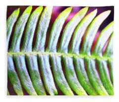 Fern 1 Fleece Blanket