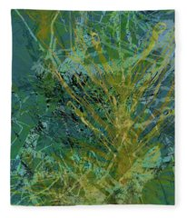 Fern Series 36 Fleece Blanket