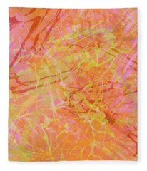 Fern Series #42 Fleece Blanket