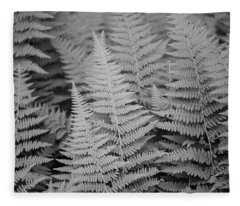 Ferns Fleece Blanket