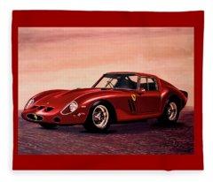 Ferrari 250 Gto 1962 Painting Fleece Blanket