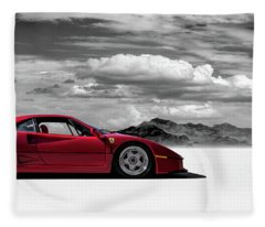 Ferrari F40 Fleece Blanket