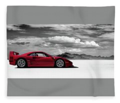 Ferrari Fleece Blankets