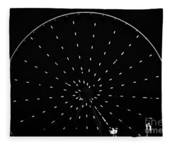 Ferris Wheel Pigeon Forge Fleece Blanket