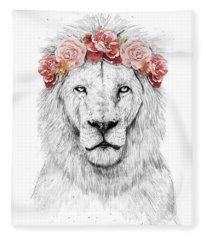 Festival Lion Fleece Blanket