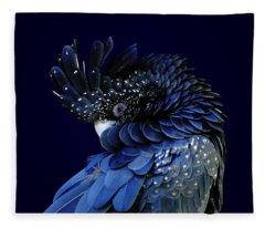 Fibonacci Cockatoo Fleece Blanket