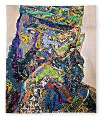 Fidel El Comandante Complejo Fleece Blanket