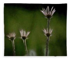 Field Of Flowers 4 Fleece Blanket