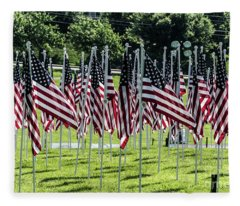 Field Of Honor Fleece Blanket