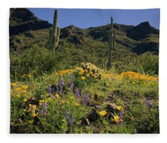 Fields Of Glory Fleece Blanket